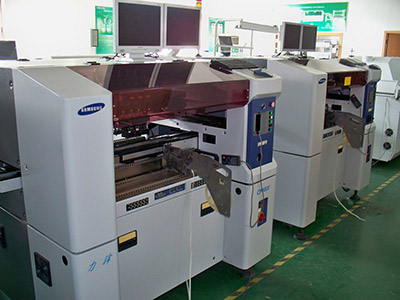 Samsung automatic label feeder into CP machines