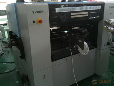Yamaha automatic label feeder into YV100 machines